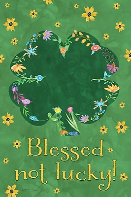 LANG Blessed Not Lucky Mini Outdoor Flag (1700075)