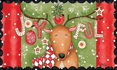 LANG Joyful Reindeer Door Mat (3210034)