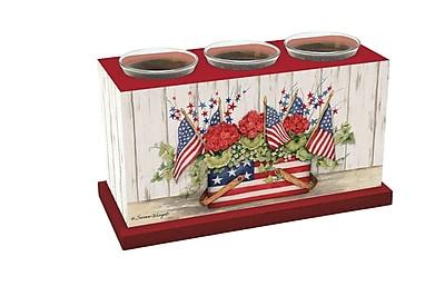 LANG Flag Basket Votive Box (3131001) 2270130
