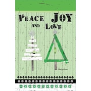 LANG Oh Christmas Tree Mini Outdoor Flag (1700096)