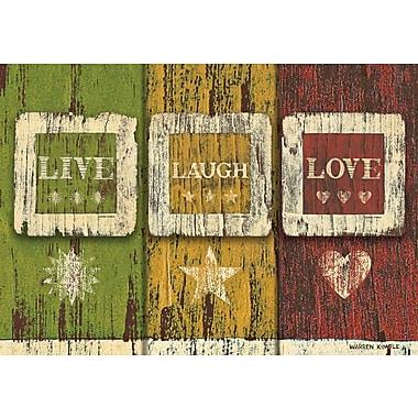 LANG Live Laugh Love Petite Note Cards (2080043)