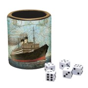 LANG Vintage Travel Dice Cup (2182003)