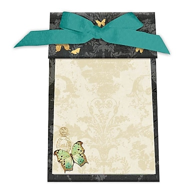 LANG Gilded Butterfly Ribbon Note Pad (2009520)