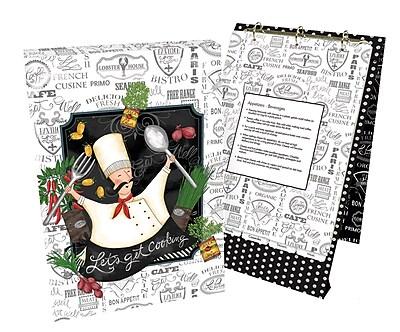 LANG Let's Get Cooking Vertical Recipe Card Album (2016006)