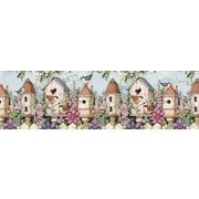 LANG Birdhouse Garden 750 Piece Panoramic Puzzle (5041012)