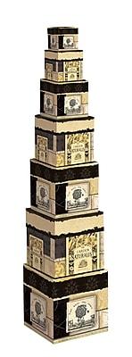 LANG Honey & Grey Decorative Boxes (4017813)