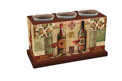 LANG Chateau Rouge Votive Box (3131000)