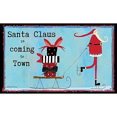 LANG Santa Claus Door Mat (3210066)