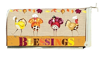 LANG Turkey Blessings Mailbox Cover (3212027)