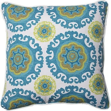 Pillow Perfect Suzani Indoor/Outdoor Throw Pillow (Set of 2)
