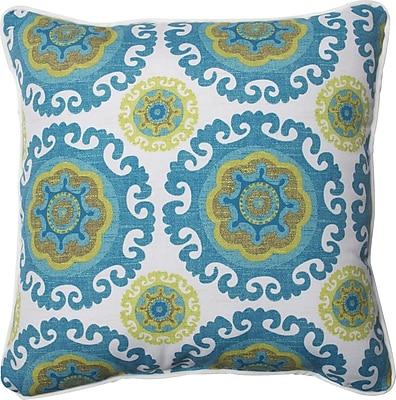 Pillow Perfect Suzani Indoor/Outdoor Throw Pillow (Set of 2)