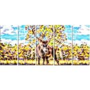 DesignArt 'Deer in the Woods' Graphic Art