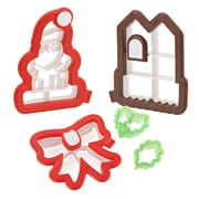 Good Cook Sweet Creations 3-D Christmas Cookie Cutter Kit Set
