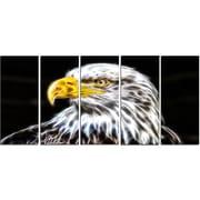 DesignArt Metal 'Bald Eagle' Graphic Art