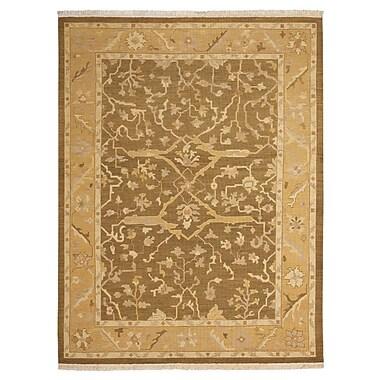 Nourison Nourmak Encore Hand-Woven Olive Area Rug; 8'6'' x 11'6''