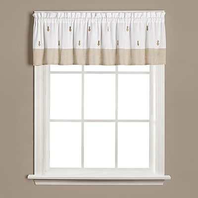 Saturday Knight Welcome Curtain Valance