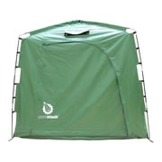 YardStash Solutions The YardStash IV 6.17 ft. W x 2.67 ft. D Plastic Portable Storage Shed