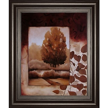 ClassyArtWholesalers Fall Vignette II by Carol Robinson Framed Graphic Art