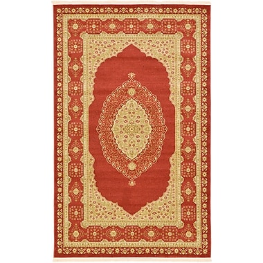 Unique Loom Heritage Red Area Rug; 9' x 12'