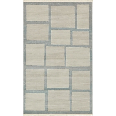 Unique Loom Nomad Beige Area Rug; 5' x 8'