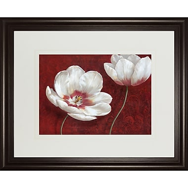 ClassyArtWholesalers Prized Blooms I by Nan Framed Graphic Art