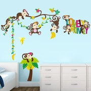 RetailSource Imagineer Lovely Monkey Wall Decal