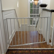 Cardinal Gates Stairway Special Gate; White