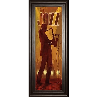 ClassyArtWholesalers Hot Jazz by Conrad Knutsen Framed Graphic Art