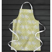 Wildon Home   Palmyra Full Sublimation Apron; Yellow