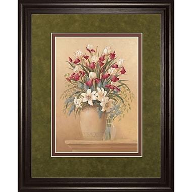 ClassyArtWholesalers Classic Petal II by Gloria Eriksen Framed Painting Print