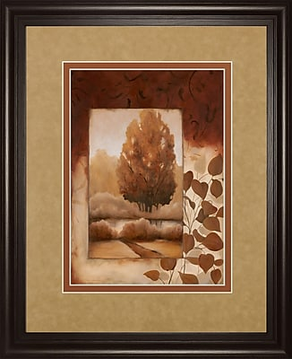 ClassyArtWholesalers Fall Vignette II by Carol Robinson Framed Painting Print