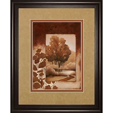 ClassyArtWholesalers Fall Vignette I by Carol Robinson Framed Painting Print