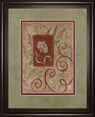 ClassyArtWholesalers Florescence I by Jane Carroll Framed Painting Print