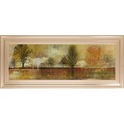 ClassyArtWholesalers Tree Shadows II Douglas and Mossy Oak Nativ Living Framed Painting Print