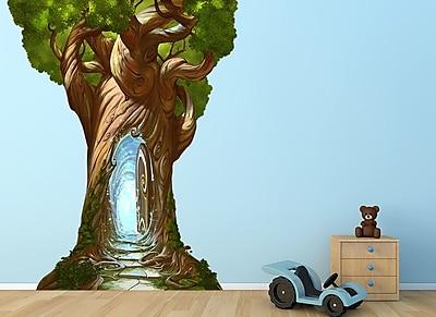 Wall-Ah! Magical Tree w/ Door Wall Decal