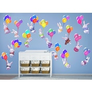 Wall-Ah! Bunnies and Balloons Wall Decal