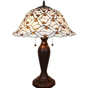 AmoraLighting Jeweled 26'' Table Lamp
