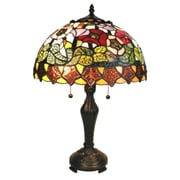 AmoraLighting Poppies 21'' Table Lamp