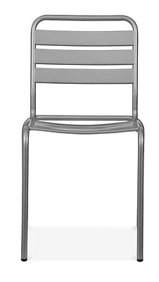 Design Lab MN Paris Side Chair (Set of 4); Glossy Grey