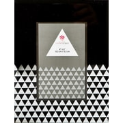 FashionCraft Geometric Glass Picture Frame