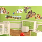 Wall-Ah! 3 Little Pigs Wall Decal