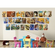Wall-Ah! Alphabet Soup Wall Decal