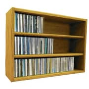 Wood Shed Multimedia Storage Rack; 18.75'' H x 26.87'' W x 6.75'' D