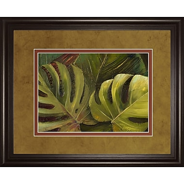 ClassyArtWholesalers Green for Ever I by Patricia Pinto Framed Painting Print