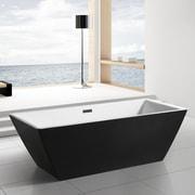 AKDY 70.08'' x 31.5'' Soaking Bathtub