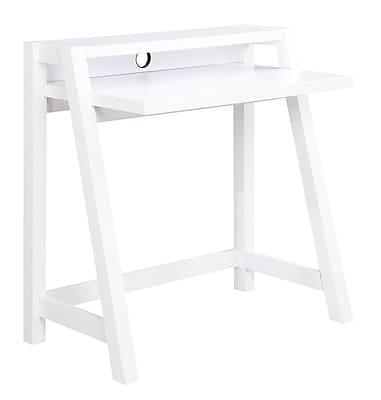 Convenience Concepts Inc. Newport Lilly Desk Newport Computer Desk White