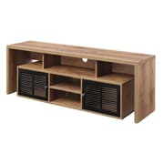 Convenience Concepts Inc. Designs2Go TV Stand/Lexington Woodgrain Entertainment Center (151394MC)