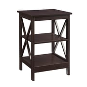 Convenience Concepts Inc. Oxford Medium Density Fiberboard End Table, Espresso, Each (203085ES)