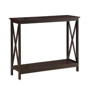 Convenience Concepts Inc. Oxford Medium Density Fiberboard Console Table, Espresso, Each (203099ES)