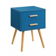 Convenience Concepts Inc. Oslo Bamboo End Table, Blue, Each (203522BE)